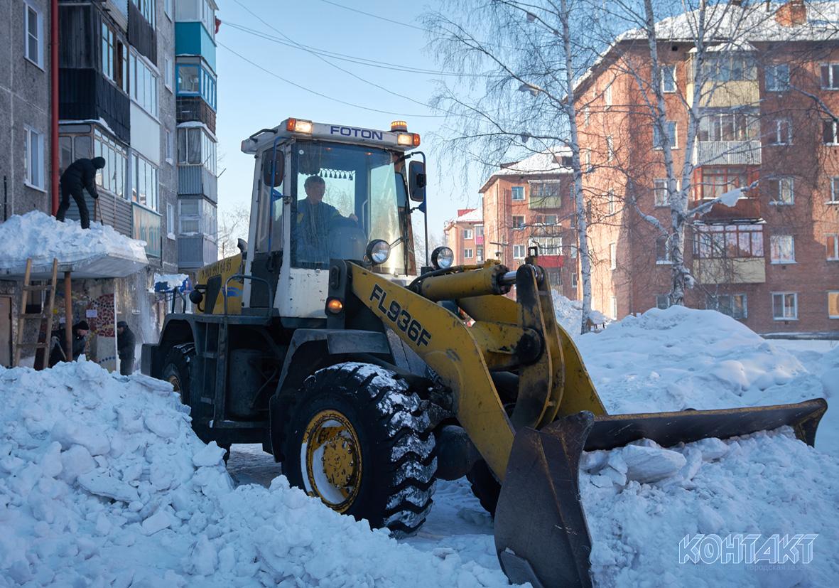 Нормативы по уборке снега во дворах